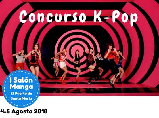 Concurso K-Pop - Salón Manga El Puerto de Santa María