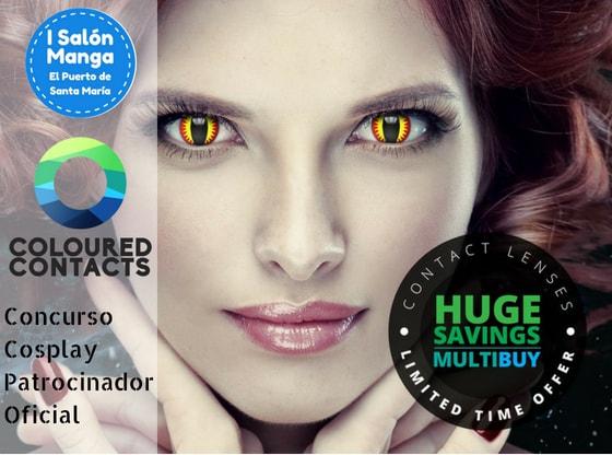 Coloured Contacts - Salón Manga El Puerto de Santa María