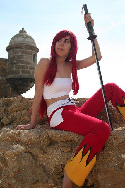 cosplayer invitada Neko Tenshi - II Salón Manga de El Puerto de Santa María