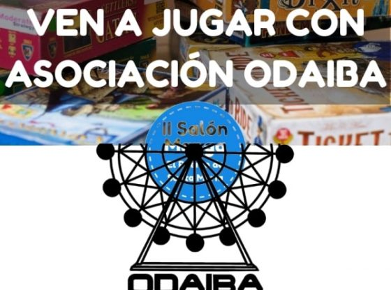 Ven a jugar JUEGOS DE MESA con ODAIBA