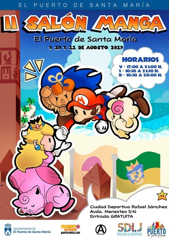 Cartel // Salón Manga de El Puerto de Santa María