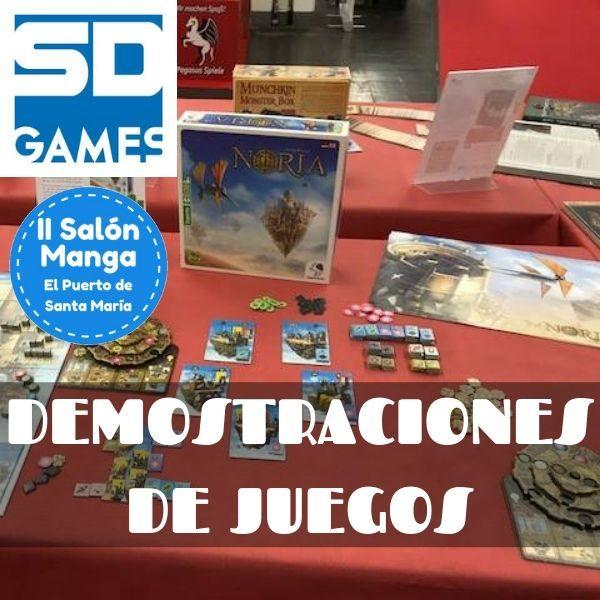 Demostraciones de juegos de SD Games en II Salón Manga de El Puerto de Santa María