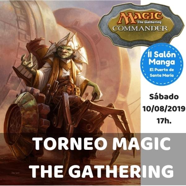 Torneo MAGIC THE GATHERING Formato COMMANDER