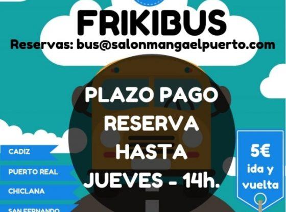 Frikibus - II Salón Manga de El Puerto de Santa María